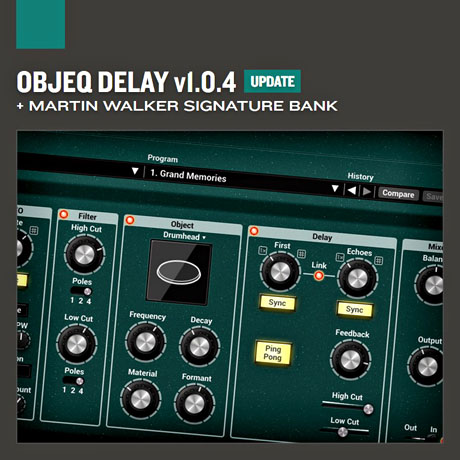Objeq Delay Signature Library