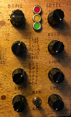 Steampunk Monosynth